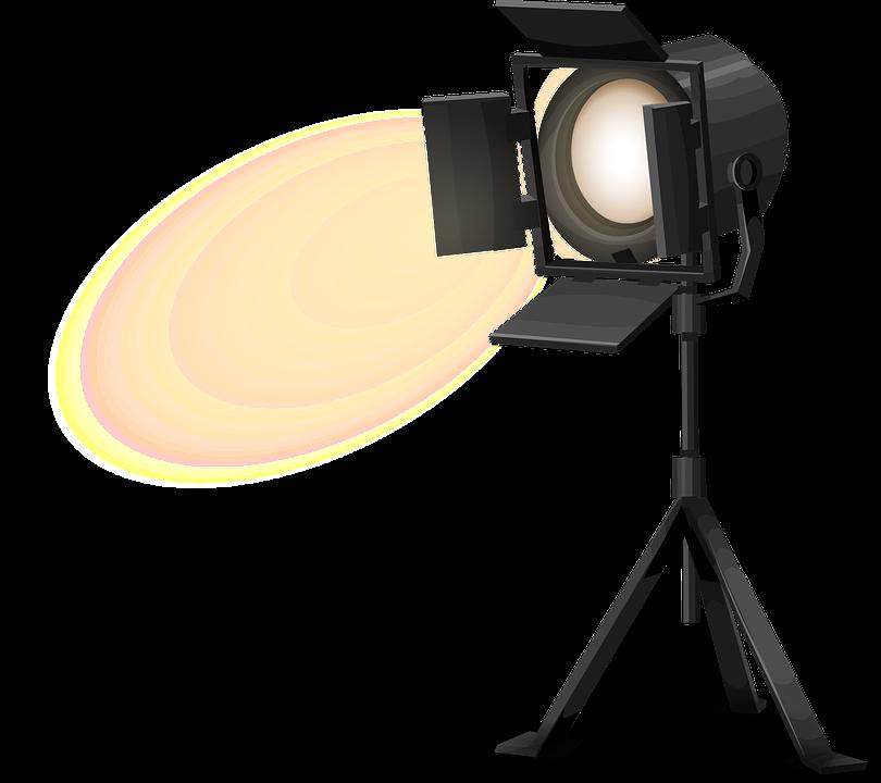 Stage Light Spotlight Free Vector Graphic On Pixabay