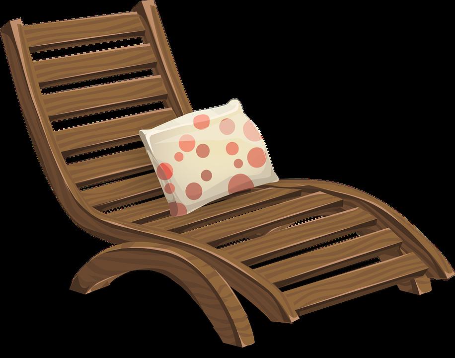 Deckchair Lawn Chair Lounge