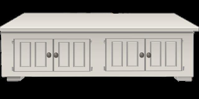 Kitchen White Wood Counter