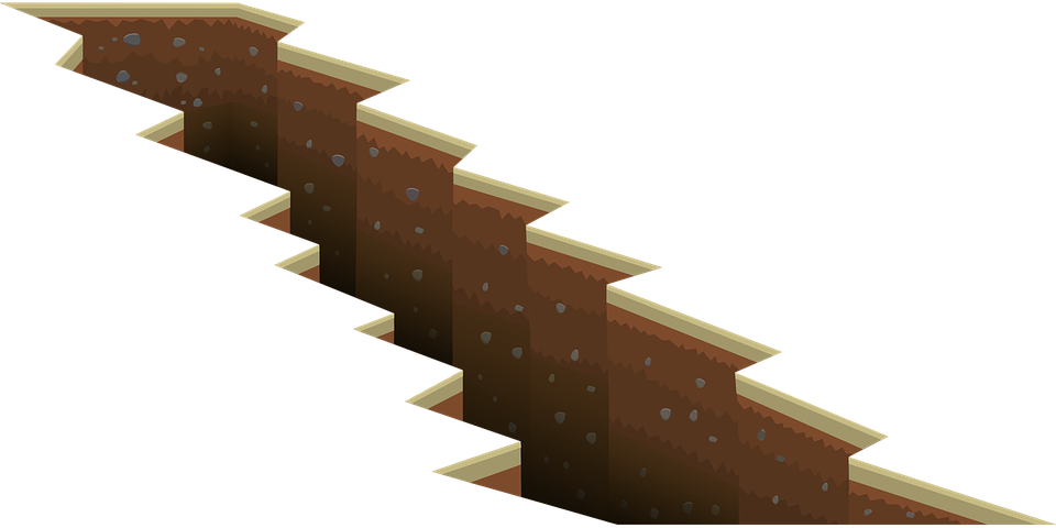 ground crack png
