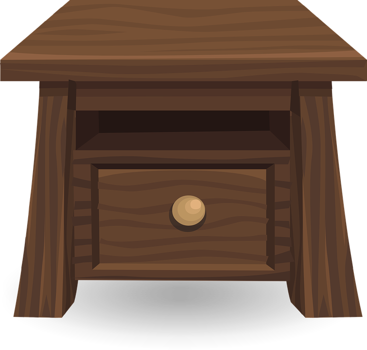 Bedside table clipart  Bedside - Free pictures on Pixabay