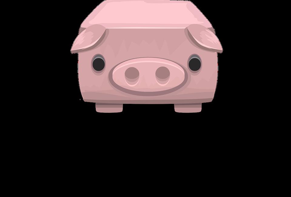 Table Pig Pink Furniture Surface Hog Swine