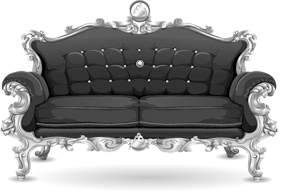 Black And White Sofa Loveseat Hereo