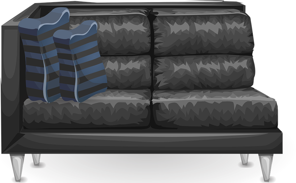 Blue And Black Leather Furniture