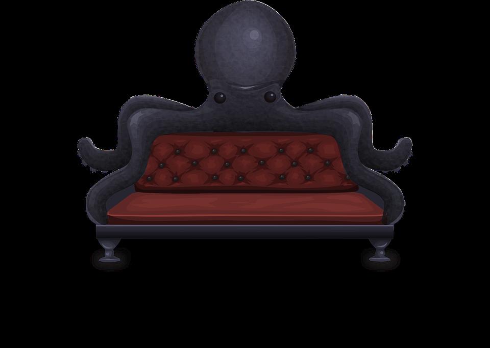 Sofa Kursi Empuk Gurita Gambar Vektor Gratis Di Pixabay