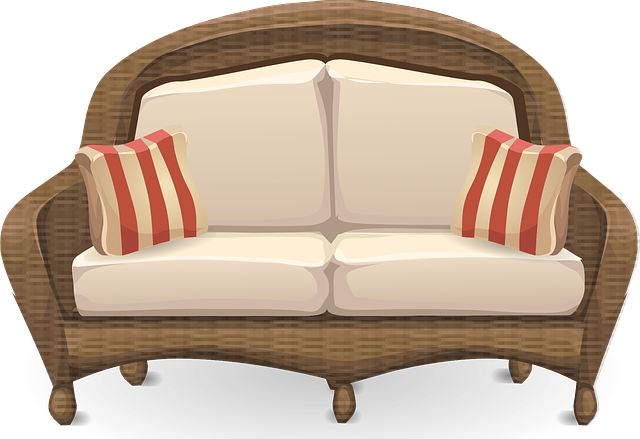 Couch Loveseat Sofa 183 Free Vector Graphic On Pixabay