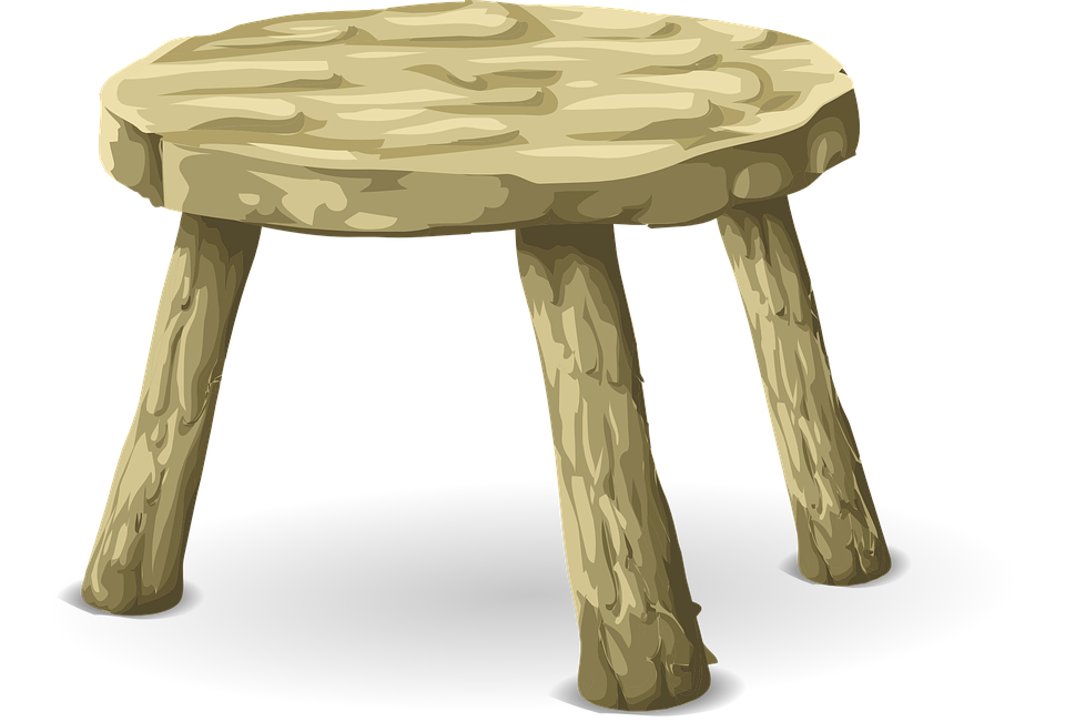 Free Vector Graphic Stool Table Furniture Wood Free