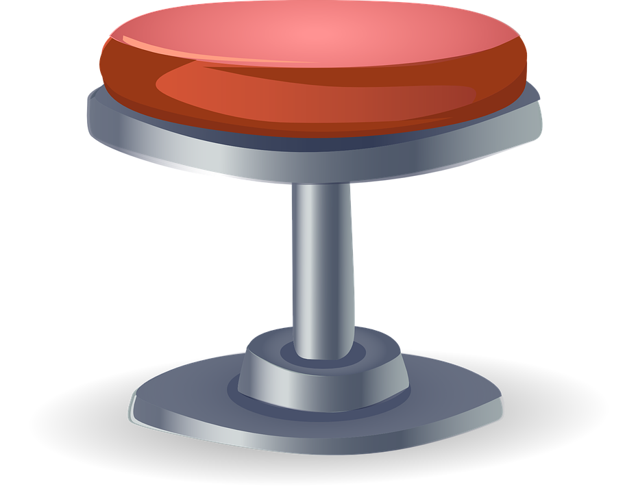 stool seat seating red furniture round grey gray  sc 1 st  Pixabay & Free vector graphic: Stool Seat Seating Red - Free Image on ... islam-shia.org
