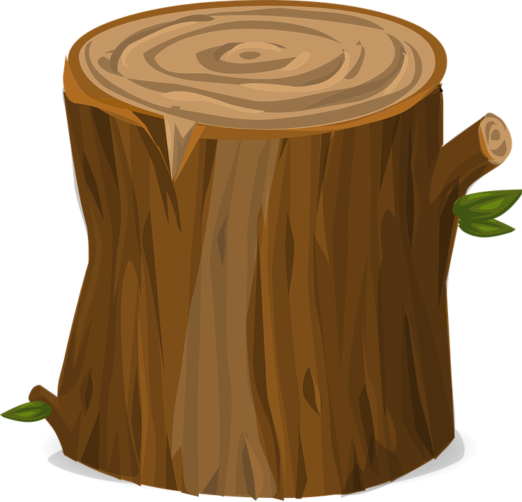 Tree log clipart the image kid has it for Tree log