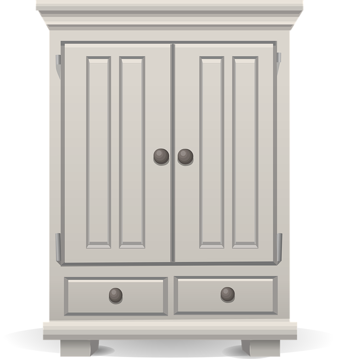 Wardrobe clipart black and white  Wardrobe - Free pictures on Pixabay