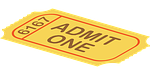 ticket, admission, cinema