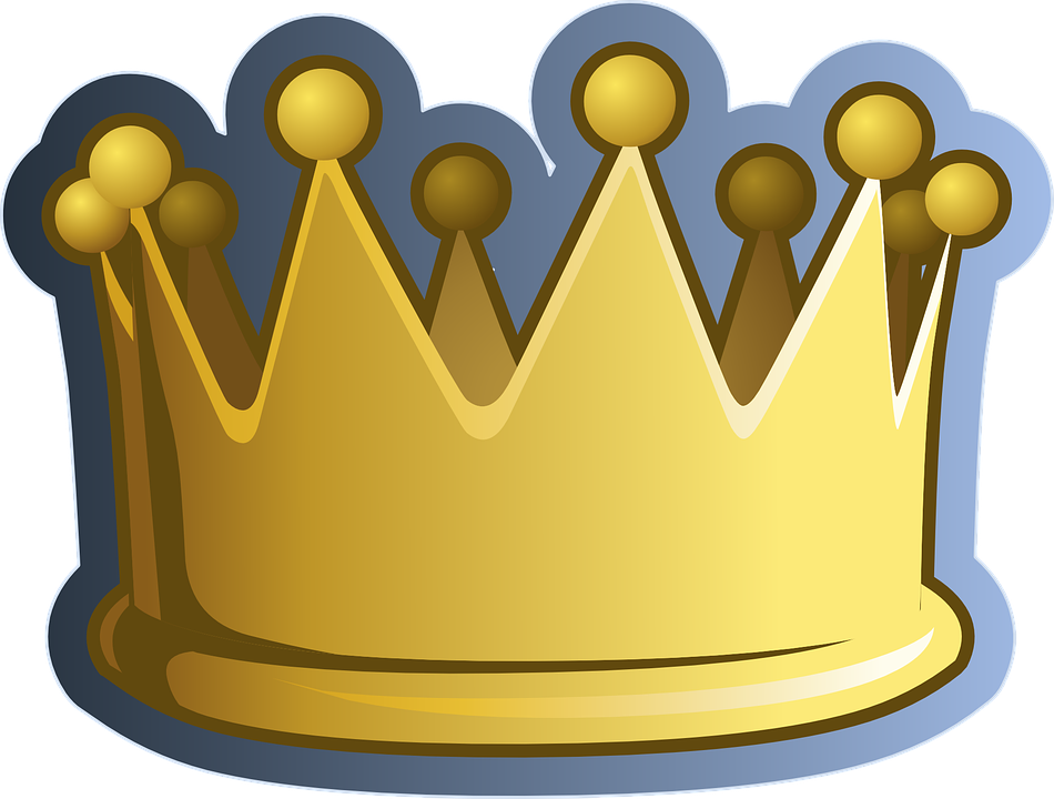 Crown King Queen Free Vector Graphic On Pixabay