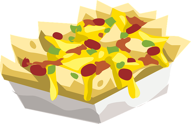 food nachos snack  u00b7 free vector graphic on pixabay Nacho Party Clip Art Nachos and Cheese