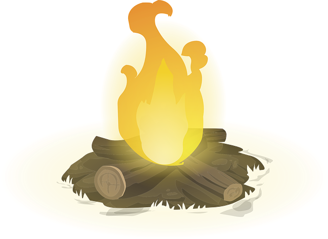 Free Vector Graphic Campfire Heat Hot Fire Woods