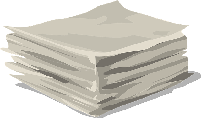 paper stack clipart - photo #22