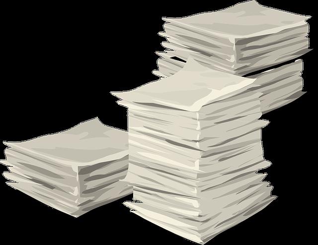 Documentos Pila Montón · Gráficos vectoriales gratis en ...