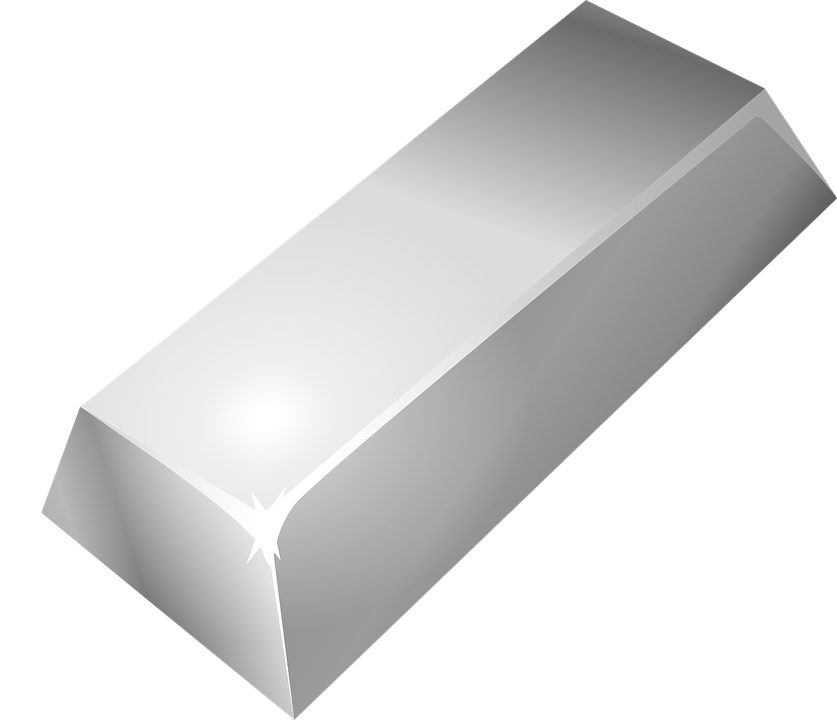 Free Vector Graphic Silver Bar Rectangle Rectangular