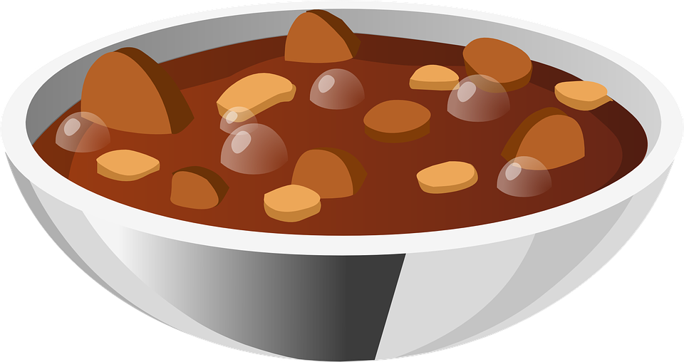 soup stew beans 183 free vector graphic on pixabay