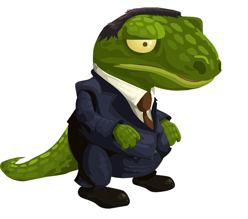 alligator crocodile suit free vector graphic on pixabay