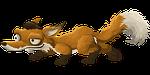 fox, animal, cartoon