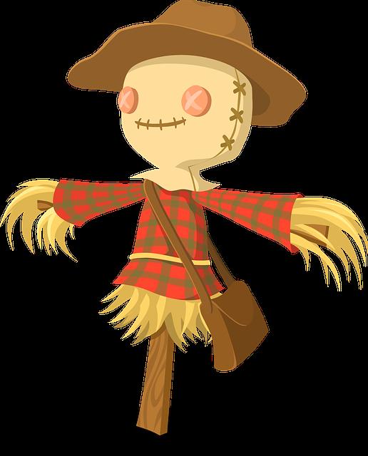 Scarecrow Vector - ClipArt Best