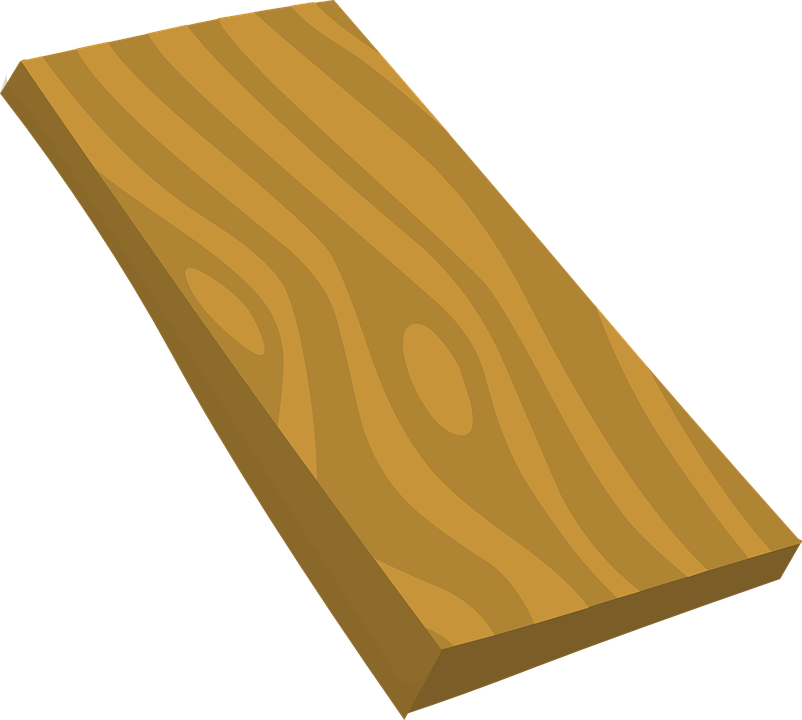 Timber Clip Art ~ Free vector graphic board wood wooden brown plank