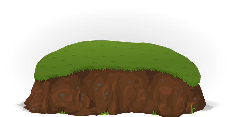 grass hill png. hill soil grass ground meadow green brown nature png l
