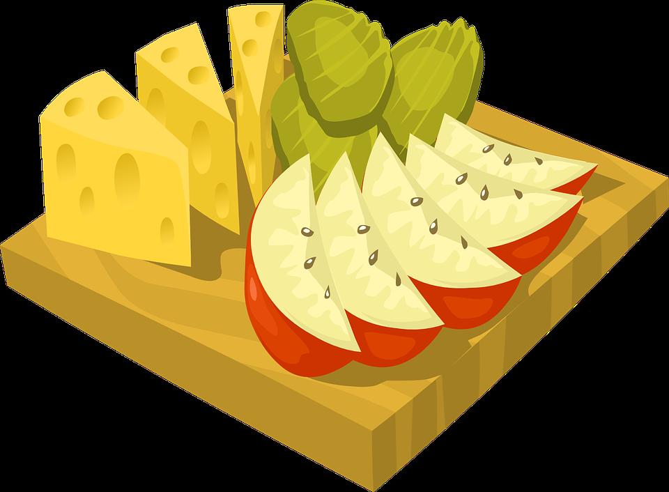 Fructe, Feliat, Felii, Salata De, Ananas, Apple, Kiwi