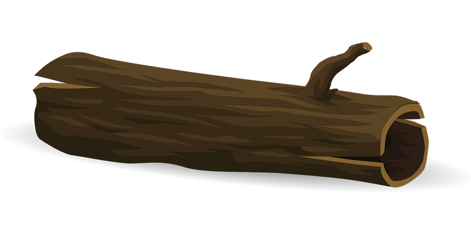 Tree log fallen free vector graphic on pixabay for Tree log