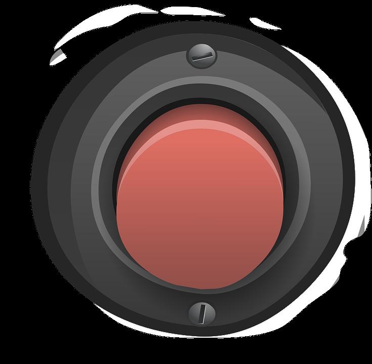Button, Red, Alarm, Push, Control, Press, Start