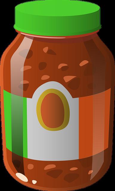 free vector graphic sauce tomato salsa food jar
