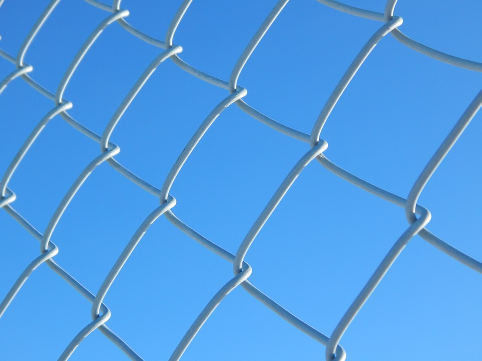 chain link fence chain link security metal
