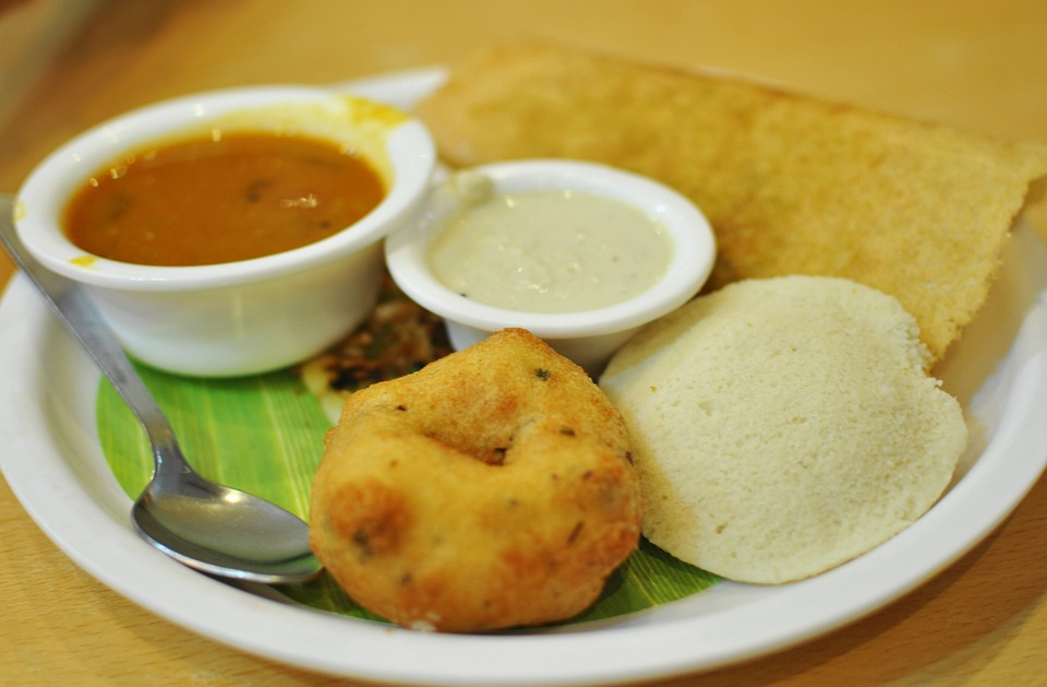 Cibo, Southindian, Indiano, Cucina, Sud, Suji, Tamil