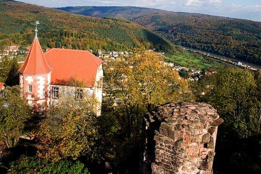 Odenwald, Ruins, Church, Landscape, Ruin
