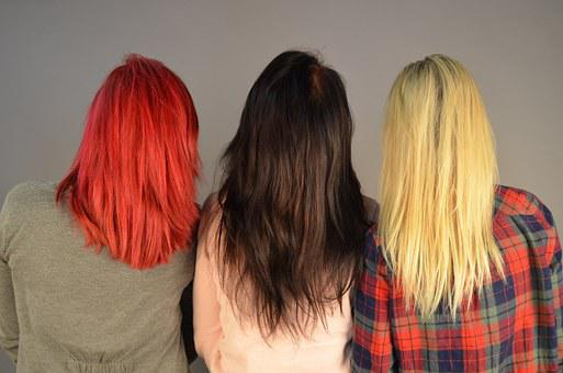 Hair Girls Colors Women Women Women Women