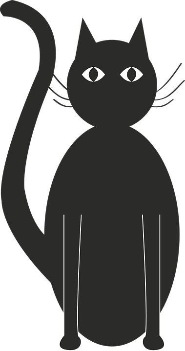 Chat Noir Silhouette Images Vectorielles Gratuites Sur Pixabay