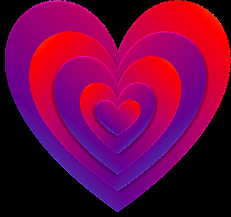Free Illustration Heart ValentineS Day Love Free