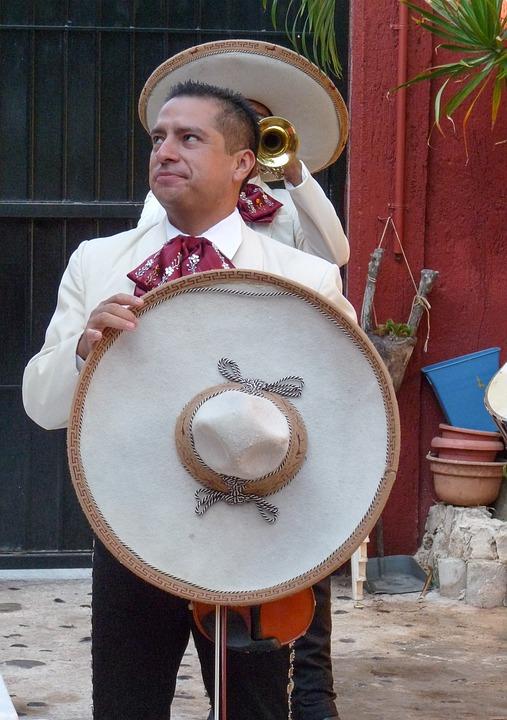 México, Mariachis, Músicos, Sombreros, Sombrero