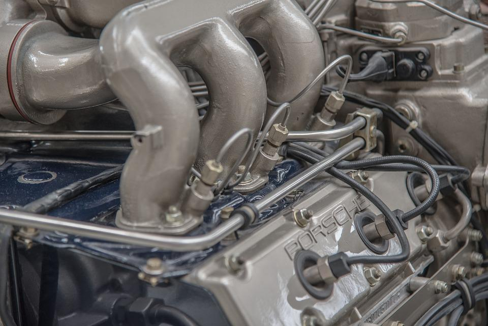 Motor, Porsche, Spark Plugs, Detail, View Details
