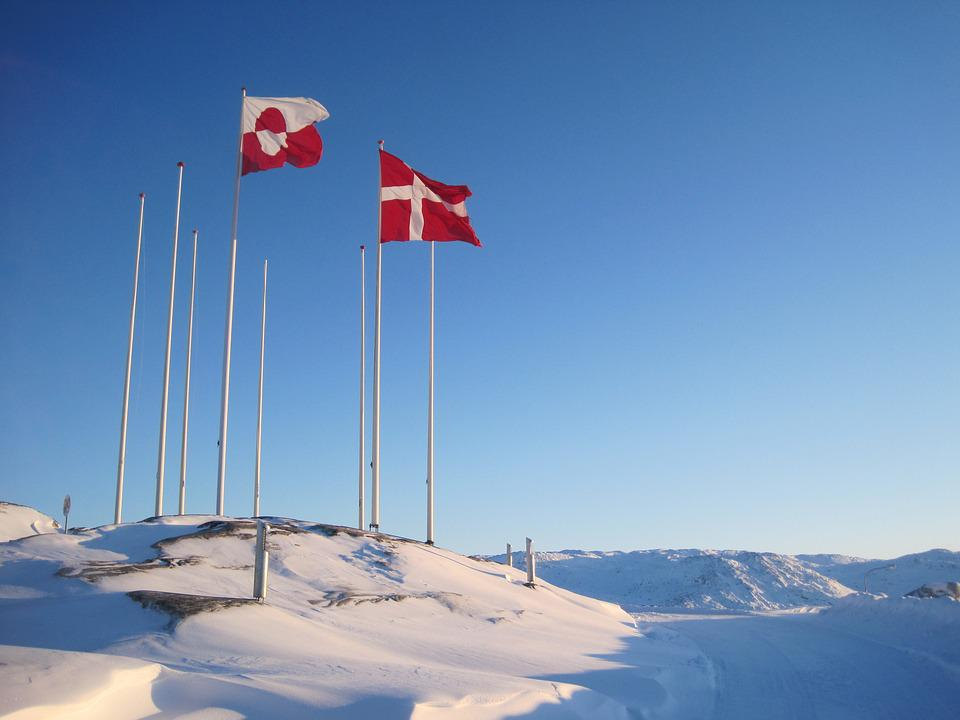 Free Photo Greenland Denmark Flags National Free Image On - Denmark flags