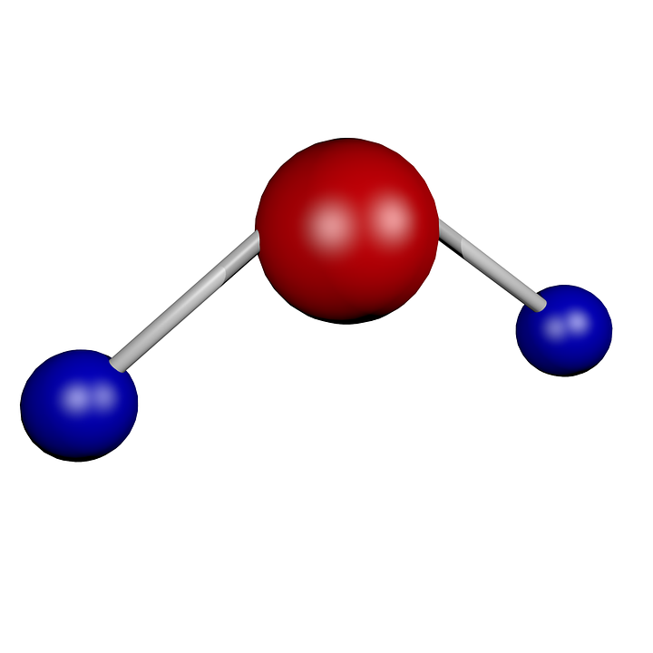 H2O Water Molecule Structural - Free image on Pixabay