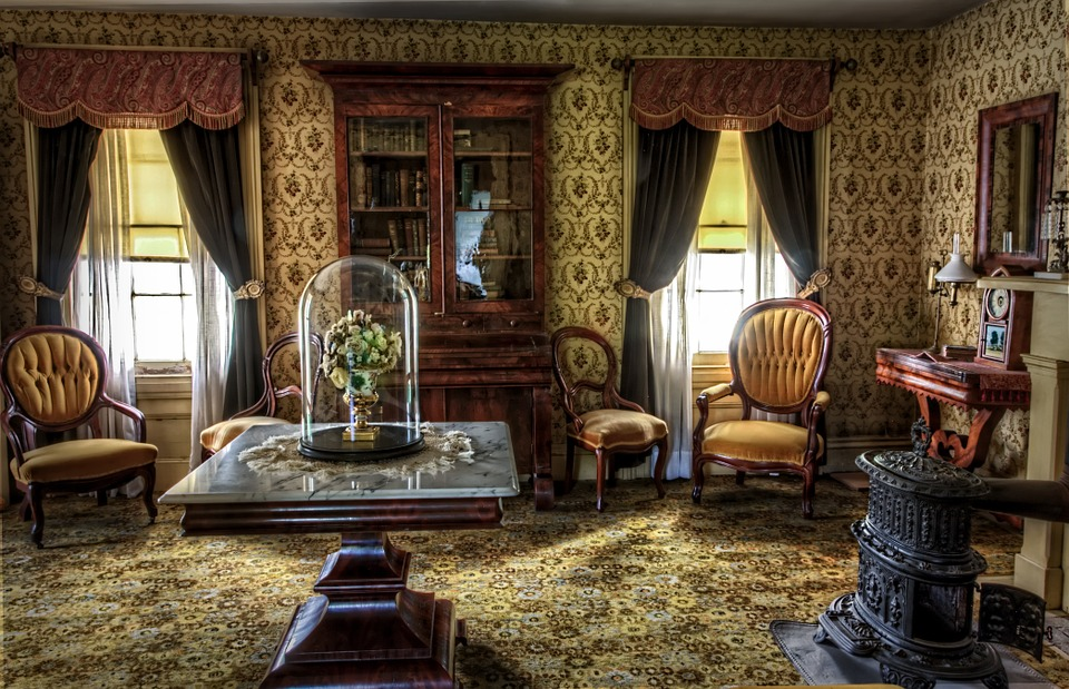 Living Room Victorian free photo: living room, victorian, historic - free image on