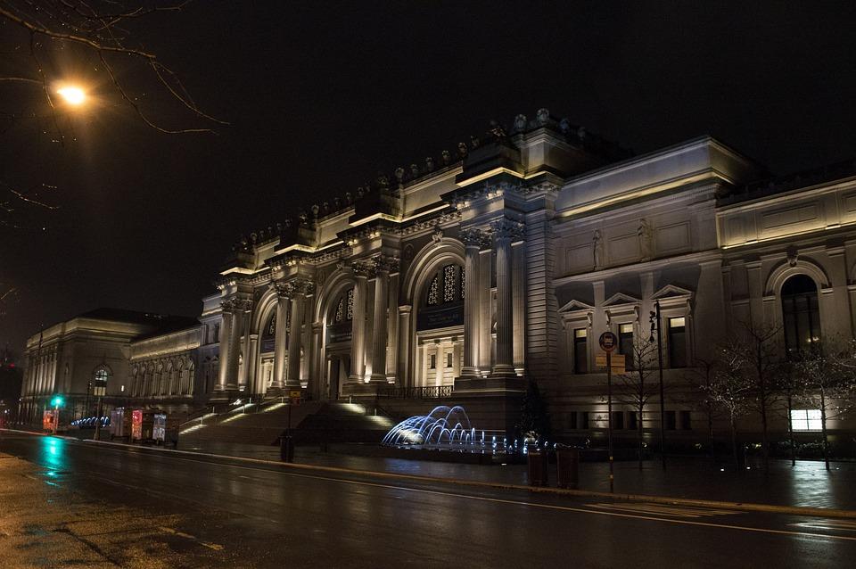メトロポリタン美術館 ニューヨーク 博物館 pixabayの無料写真