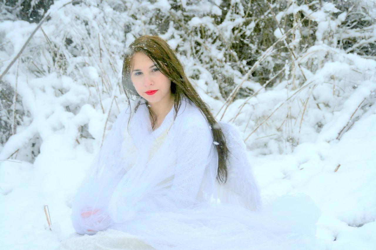 Снежные девочки фото