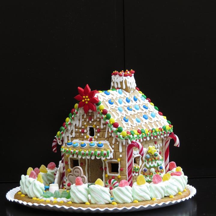 Kostenloses Foto: Lebkuchenhaus, Weihnachts-Gebäck ...