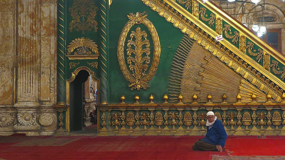Mosque, Muhammad Ali, Pray, Pasha, Cairo, Egypt