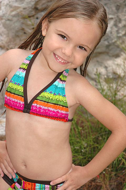 Free Photo Girl In Bikini Colorful Bikini Free Image