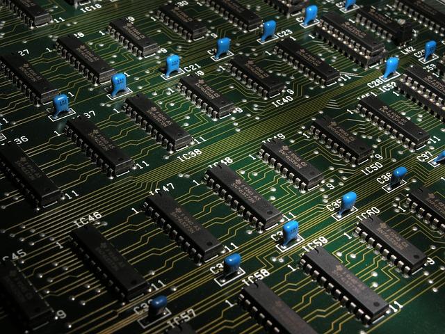 Electronics Components Chips 183 Free Photo On Pixabay