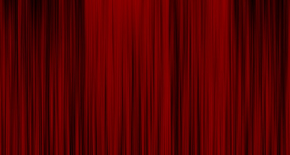 Curtain Background Red Fabric Texture Decor