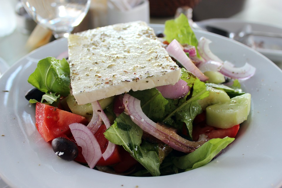 Feta Cheese Greek Salad - Free photo on Pixabay